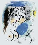 Maler mit Muse, 1959