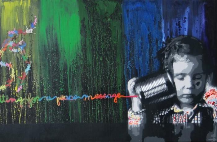 "Ausstellung ""StreetArt – Playing for Change"", 23.02.-29.03.2014"