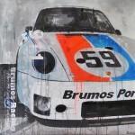 Porsche 911 Brumos Racing