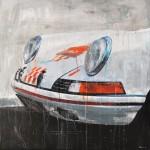 Porsche 911 Front Profil - verkauft/sold -
