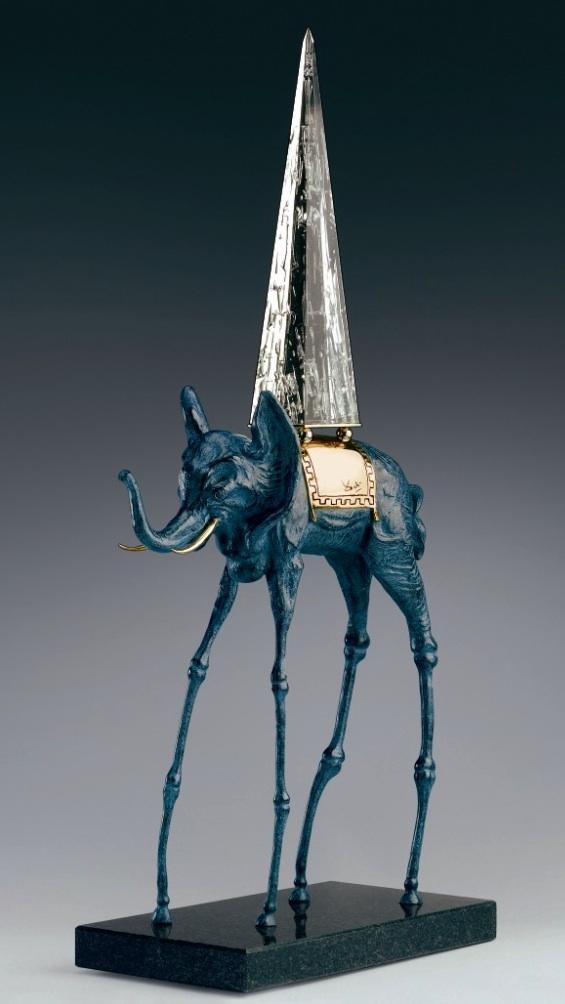 Salvador Dali<br>Space Elephant