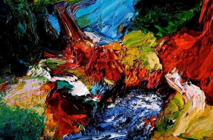 """Ausstellung """"Gérard Stricher – Explosion der Farben"""", 05.10.-15.11.2014"""
