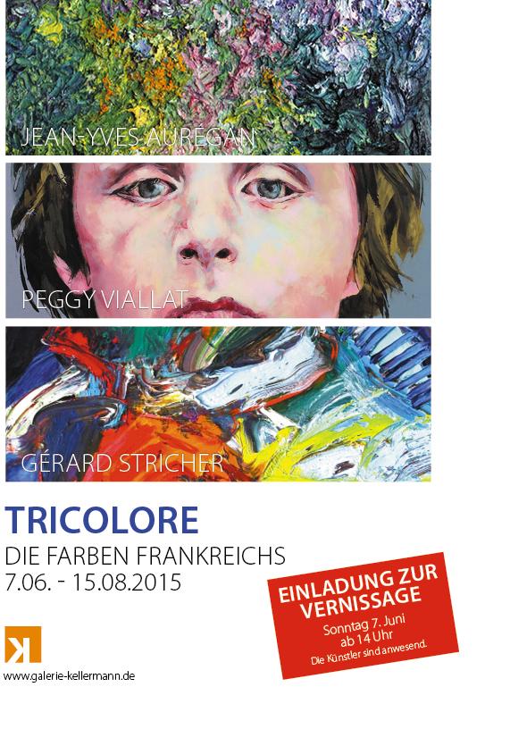 TRICOLORE</br>Meisterwerke der französischen Art Contemporain</br>7.06.-15.08.2015