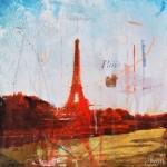 Paris 64 - Seine und Eiffelturm