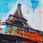 Paris 72 - Eiffelturm- sold/verkauft -
