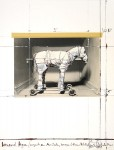Wrapped horse, 1989