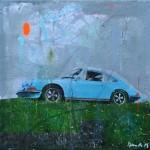 RL 565 - Blue Porsche- sold/verkauft -