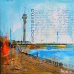 Düsseldorf Rheinpromenade, 2015- sold/verkauft -