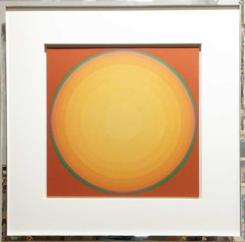 Lothar Quinte Quasar Gelb Orange Moderne Kunst In Duesseldorf