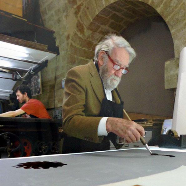 Otto Pienes letztes Werk: Die Nächte des Heliogabalus