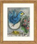 Marc Chagall: Der blaue Vogel, 1968