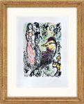 Marc Chagall: La Famille au coq , 1969
