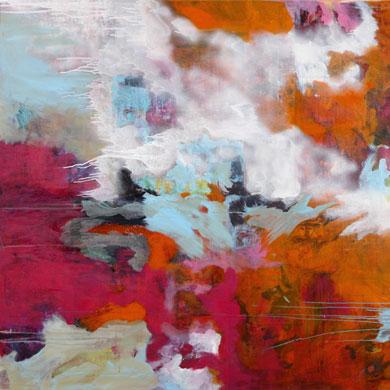Sonja Kalb – Poesie der Farben: 1.-4.12. im Ballhaus Nordpark