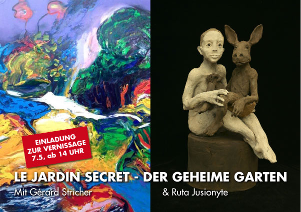 LE JARDIN SECRET: Ruta Jusionyte & Gérard Stricher
