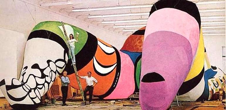 Niki De Saint Phalle Moderne Kunst In Dsseldorf