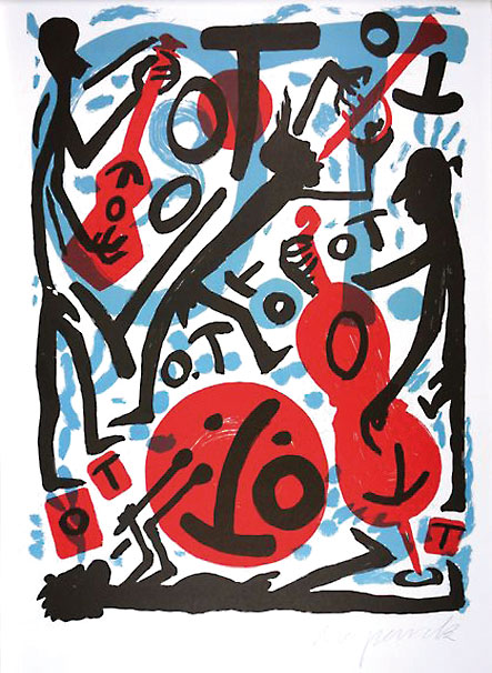 Happy New Year  mit A.R. Penck 14.01.-3.02.2018