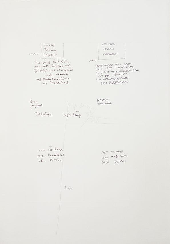 Joseph Beuys Granolithographie 1975                 08